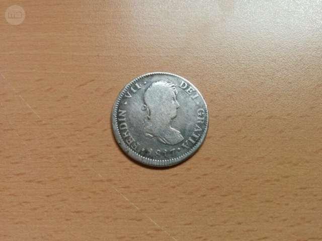 Moneda 2 Reales Fernando Vii