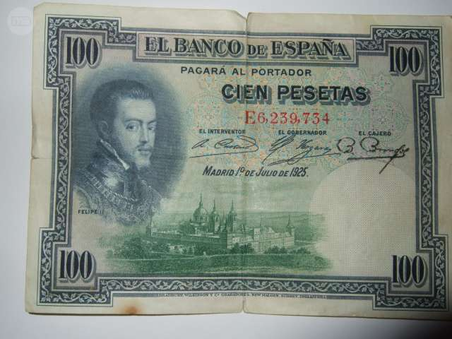 Billete 100 Pesetas 1925