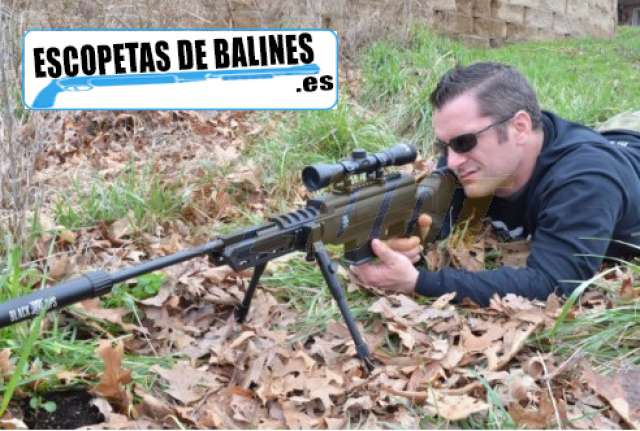 RIFLE SNIPER AIR 4, 5