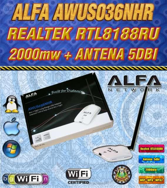 ALFA AWUSH036NHR V2 2000MW