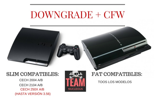 DOWNGRADE CFW PS3