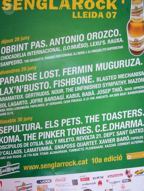 Senglar Rock 2007