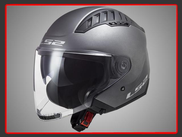 Casco Rebatible Moto Ls2 324 Metro Evo Negro Fluor C Visera