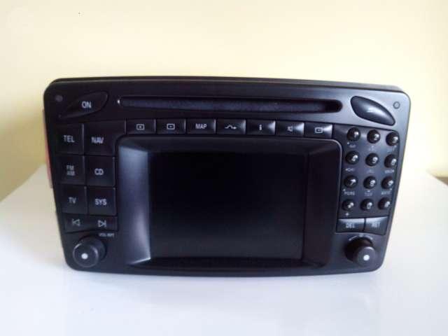 RADIO NAVEGADOR GPS MERCEDES C CLK
