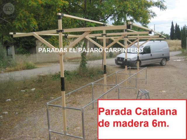 PARADAS MADERA MEDIEVALES - foto 3