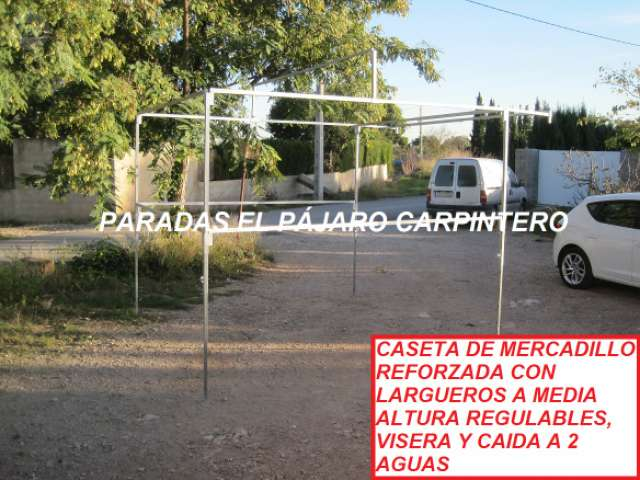 PARADAS PUESTOS MERCADO - foto 2