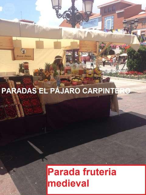 PARADAS PUESTOS FERIA MERCADO - foto 2