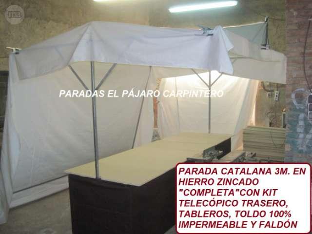 PARADAS PUESTOS FERIA MERCADO - foto 3