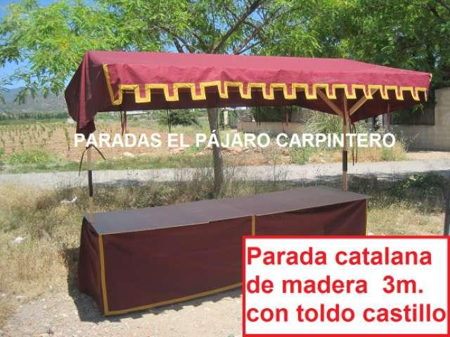 PARADAS PUESTOS FERIA MERCADO - foto 5