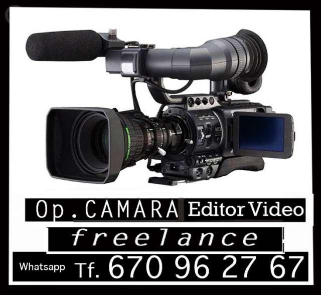 CAMARA, GRABACIÓN VIDEO FREELANCE AUTONO