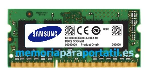 MEMORIA PARA PORTATIL 2GB DDR2 PC2-6400 - foto 1