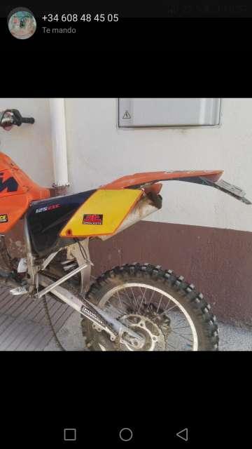KTM EXC 125 EN DESPIECE 2004