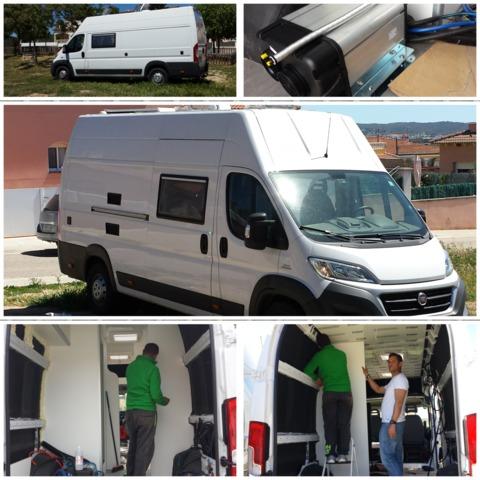 Protector de para furgoneta, motor home Camper personalizar