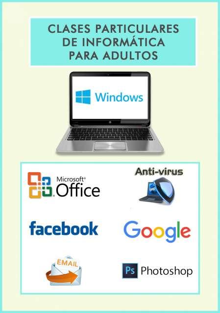 CLASES PARTICULARES INFORMÁTICA ADULTOS - foto 1