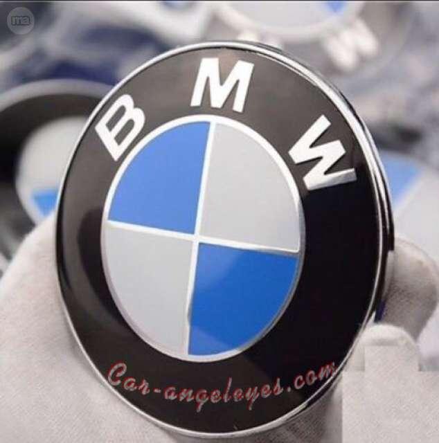 Original bmw 11mm auto smart clave emblema logotipo e81 e82 e83 e87 e60 e61 f20