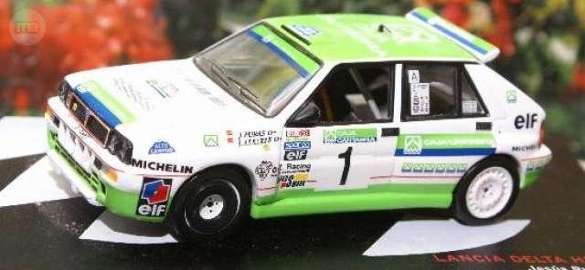 Lancia Delta Hf Integrale Rallye Caja Ca