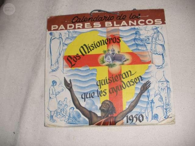 CALENDARIO DE LOS PADRES BLANCOS 1950 LO - foto 1