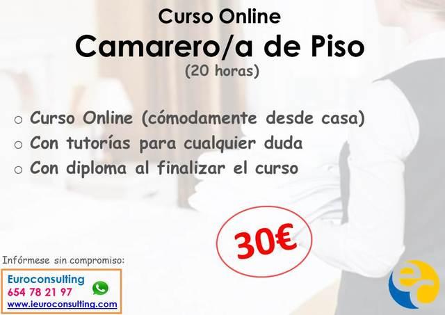 CURSO CAMARERA DE PISO (ONLINE) - foto 1