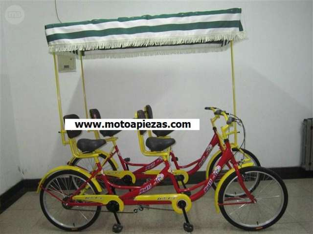 SIGHTSEEING COCHES BICICLETA 6 PERSONAS