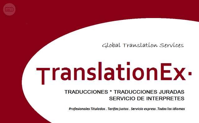 TRADUCTORES .  ALICANTE .  TRANSLATIONEX· - foto 1