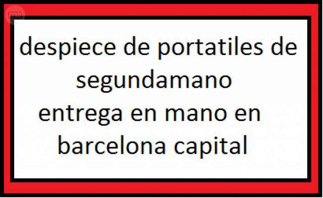 TODA CLASE DE RECAMBIOS PARA PORTATIL