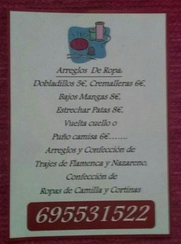 ARREGLOS Y CONFECCION DE ROPA - foto 1