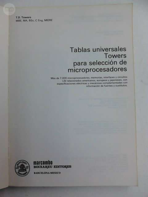 MARCOMBO. . .   T. D.  TOWERS - foto 2