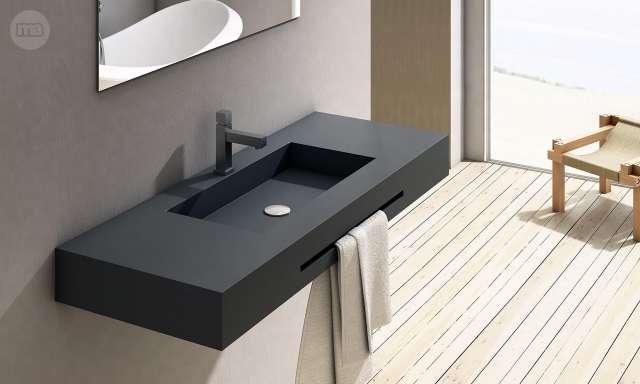 Mil anuncios com lavabo con encimera de pizarra for Muebles bano modernos baratos online