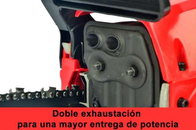 MOTOSIERRA 53CC ARRANQUE FÁCIL