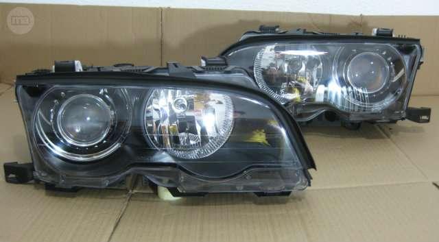 Faros Bmw 3 E46 Coupe Bi Xenon