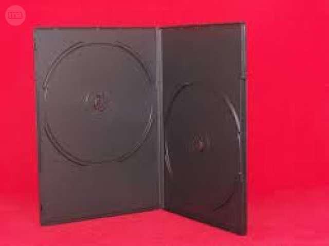 CAJAS DOBLES DVD - CD