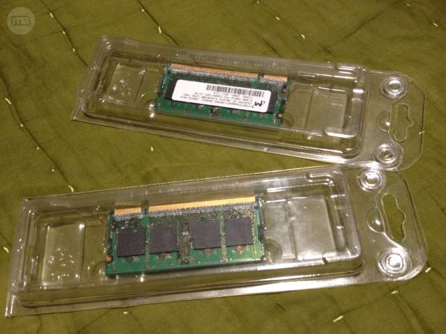 MEMORIAS RAM PARA APPLE MAC