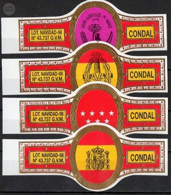 CONDAL. GVM. LOT, NAVIDAD 1998.