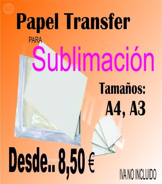 PAPEL TRANSFER SUBLIMACIÓN IMPRESORA - foto 1