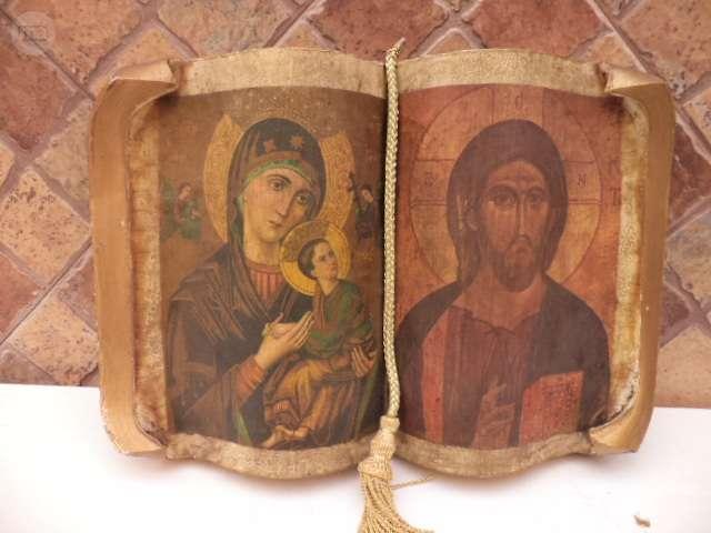 Libro Religión Antiguo De Decoración