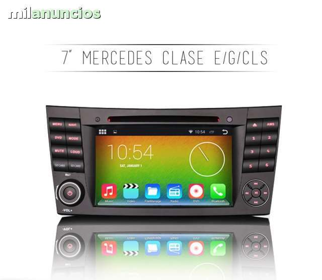 RADIO GPS ANDROID MERCEDES CLASE CLS G