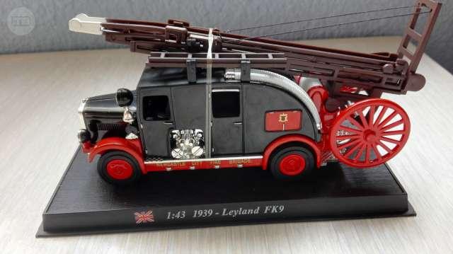 Miniaturas Camiones Bomberos