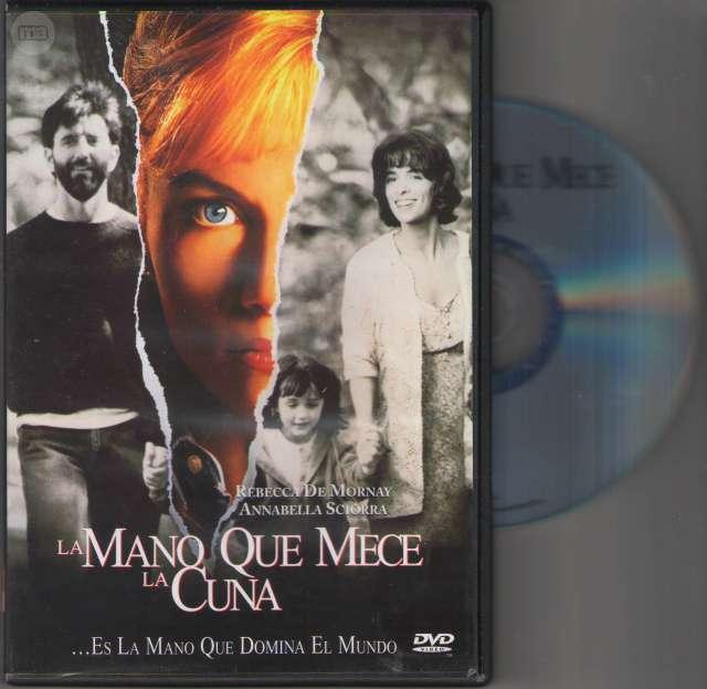 DVD LA MANO QUE MECE LA CUNA -