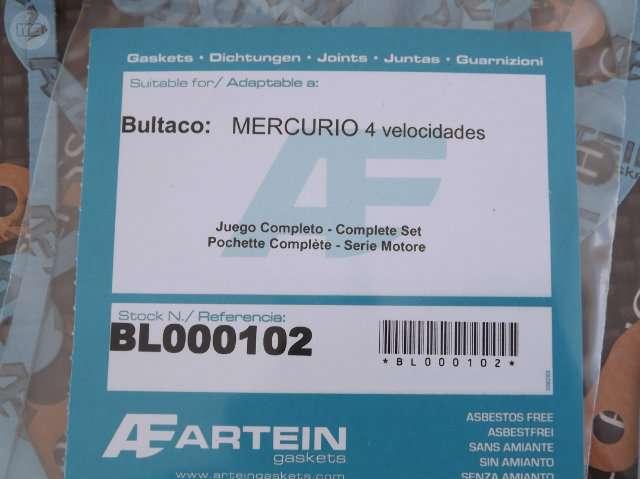 BULTACO MERCURIO 155 - JUEGO JUNTAS MOTOR