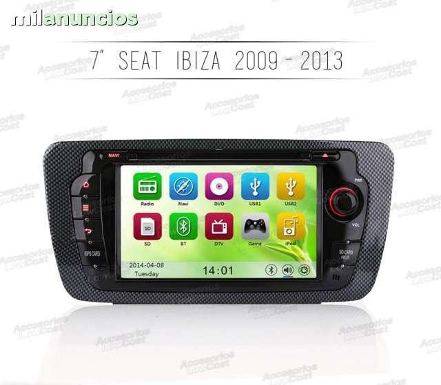 RADIO GPS HD 7 SEAT IBIZA 2009-2013