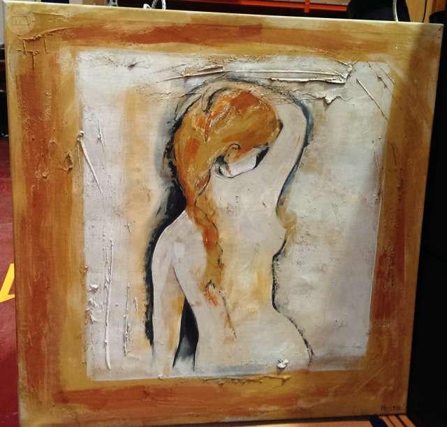 Cuadro Mujer Desnuda Nuevo