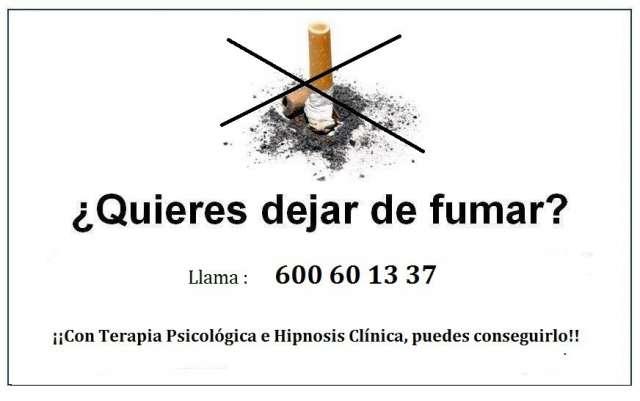 HIPNOSIS CLINICA PARA DEJAR DE FUMAR - foto 1