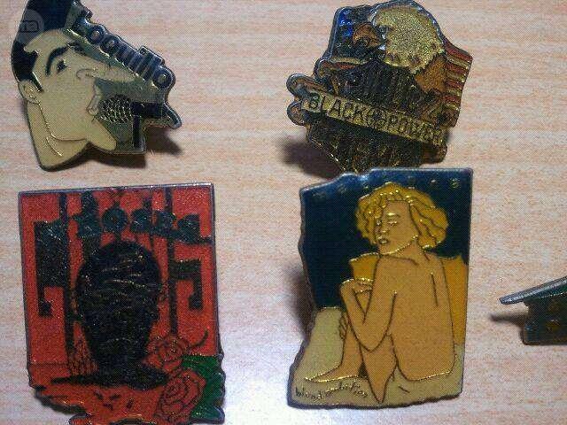 PINS DE LOS AÑOS 80 - foto 2