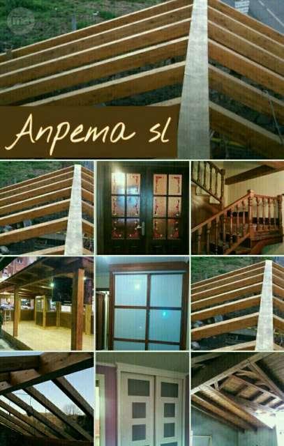 ANPEMA SL , TRABAJOS EN MADERA