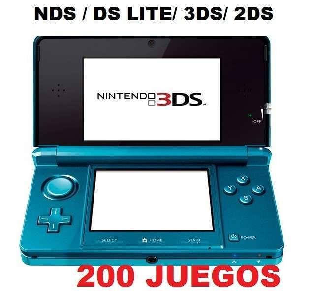 R4 NINTENDO CON 200 JUEGOS Y 8 GB