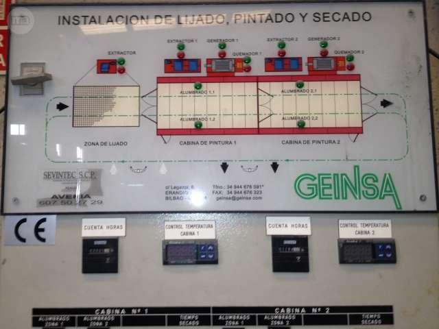 CABINA MIXTA DE PINTADO/SECADO GEINSA - foto 4