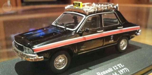 Renault 12 Taxi De Madrid De Altaya En C