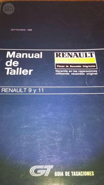 MANUAL TALLER GUIA TASACIONES RENAUTL
