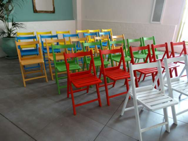 SILLAS DE COLORES COMUNIÓN,  CUMPLEAÑOS. .  - foto 2