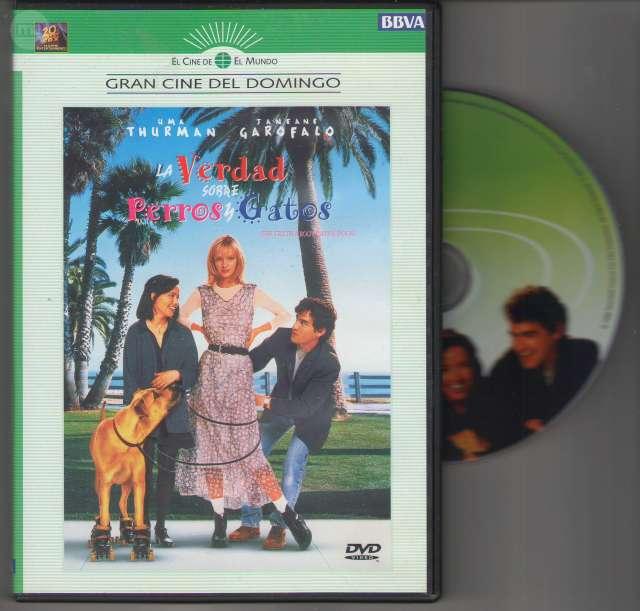 DVD LA VERDAD SOBRE PERROS Y GATOS